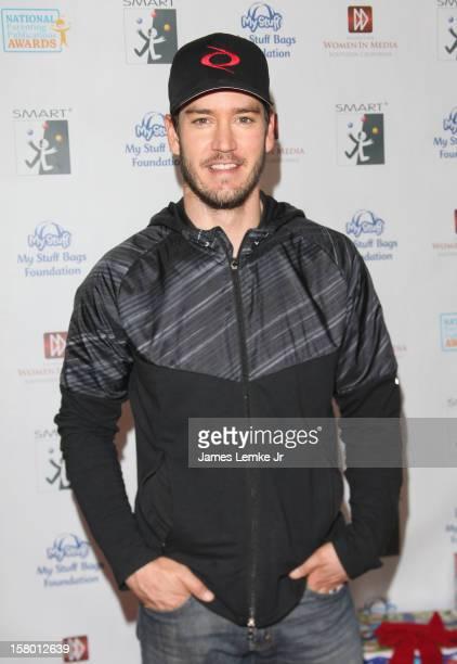 MarkPaul Gosselaar attends the 'Celebrity Stuffathon' benefiting the My Stuff Bags Foundation held at the CBS Studios Radford on December 8 2012 in...
