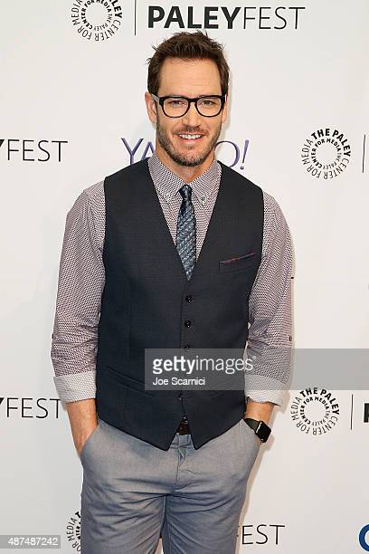 MarkPaul Gosselaar attends The Paley Center For Media's PaleyFest 2015 Fall TV Preview NBC at The Paley Center for Media on September 9 2015 in...