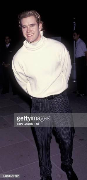 MarkPayl Gosselaar attends NBC AllStar Winter Press Tour on January 8 1994 at the Huntington Ritz Carlton Hotel in Pasadena California