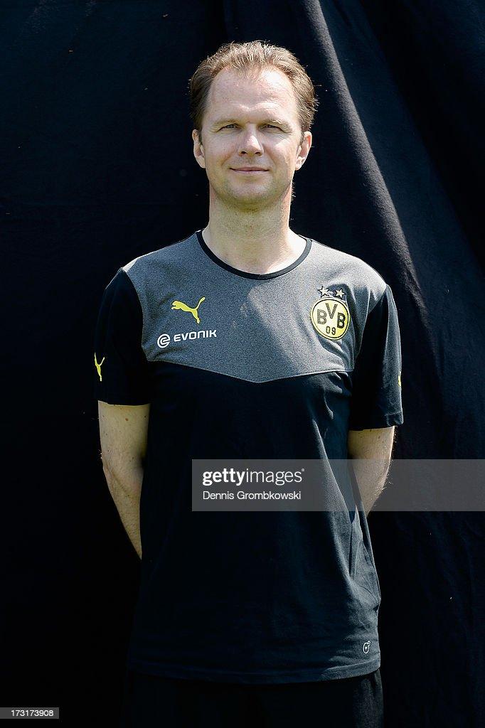 Markus Braun poses during the Borussia Dortmund Team Presentation at Brackel Training Ground on July 9, 2013 in Dortmund, Germany.