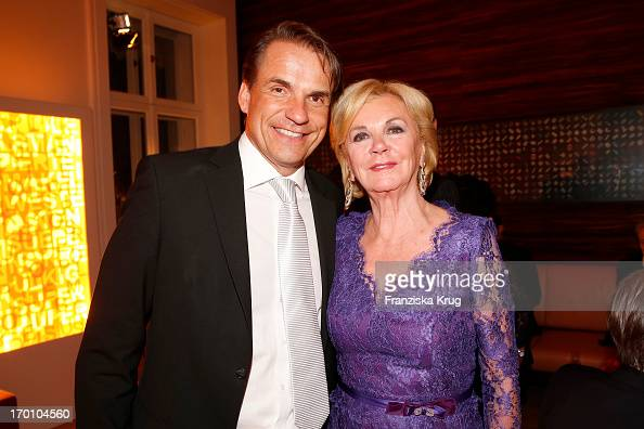 Markus Dohle and Liz Mohn attend the Bertelsmann Summer Party at the Bertelsmann representative office on June 6 2013 in Berlin Germany