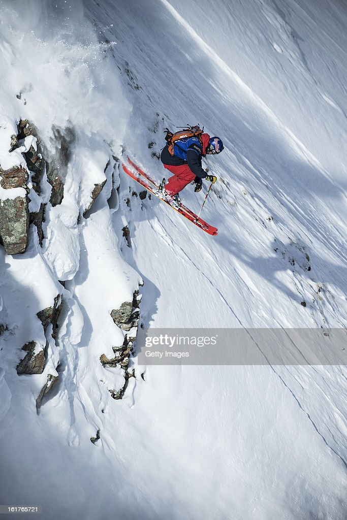 Markus Eder of Italy and Team Europe competes during day 5 of the Swatch Skiers Cup on February 14, 2013 in Zermatt, Switzerland.