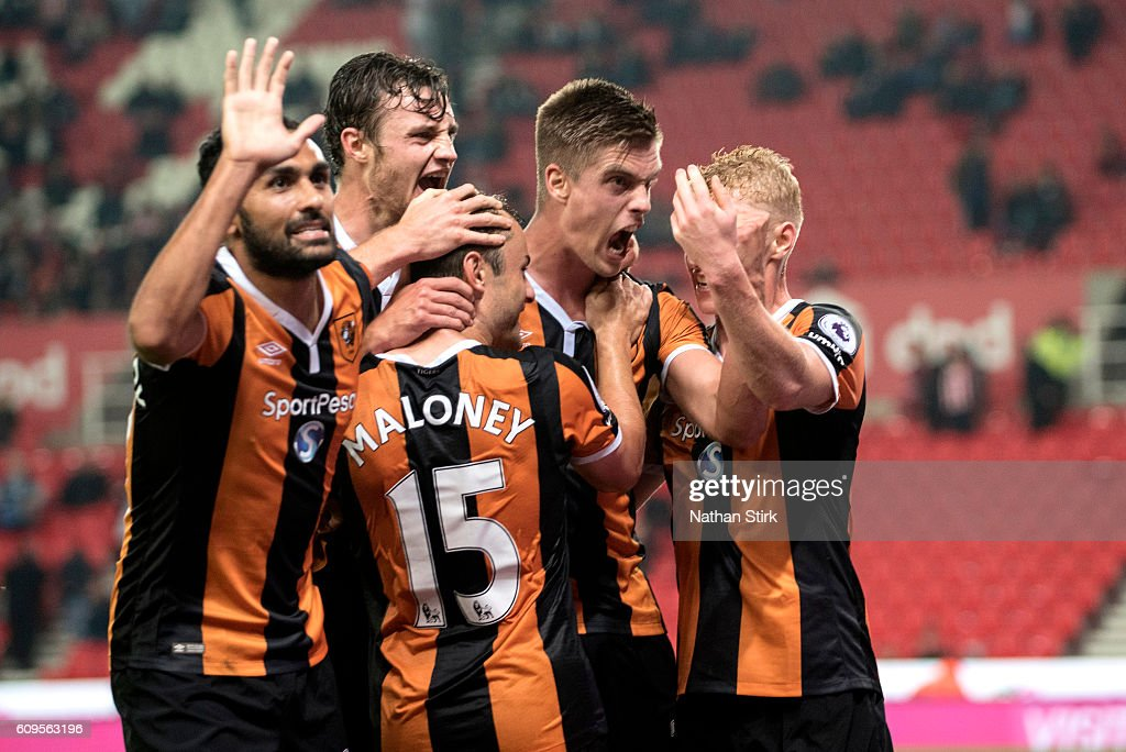 Stoke City v Hull City - EFL Cup Third Round : News Photo