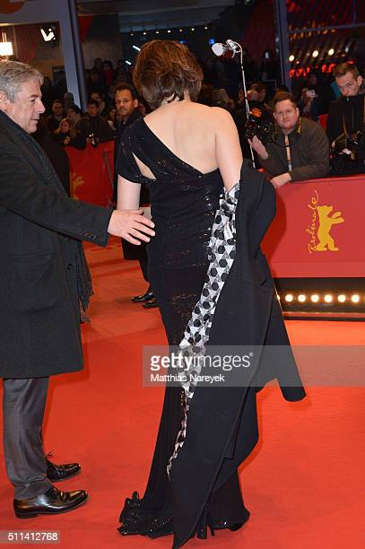 Markus Imboden and Martina Gedeck attend the closing ceremony of the 66th Berlinale International Film Festival on February 20 2016 in Berlin Germany