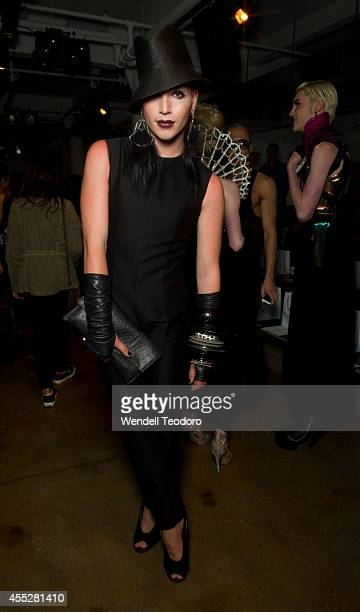 Markus Kelle attends The Blonds during MADE Fashion Week Spring 2015 at Milk Studios on September 10 2014 in New York City