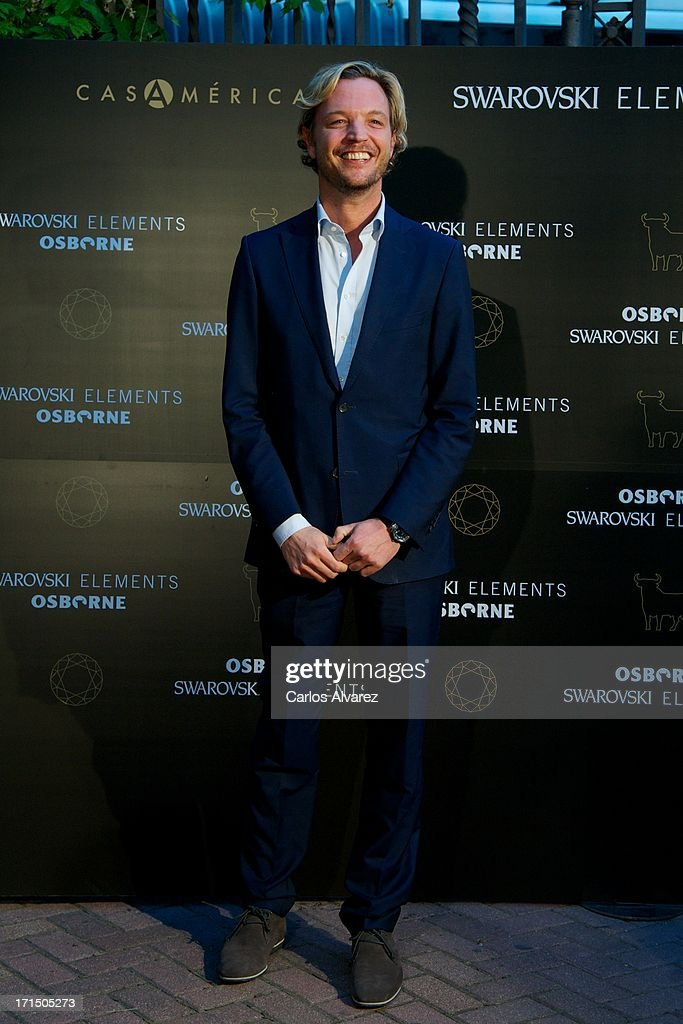 Markus Langes-Swarovski attends Swarovski-Osborne Bull illumination at the Casa America on June 25, 2013 in Madrid, Spain.