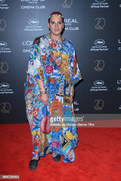 Markus Molinari attends the Gala 20th Birthday Of L'Oreal In Cannes during the 70th annual Cannes Film Festival at Hotel Martinez on May 24 2017 in...