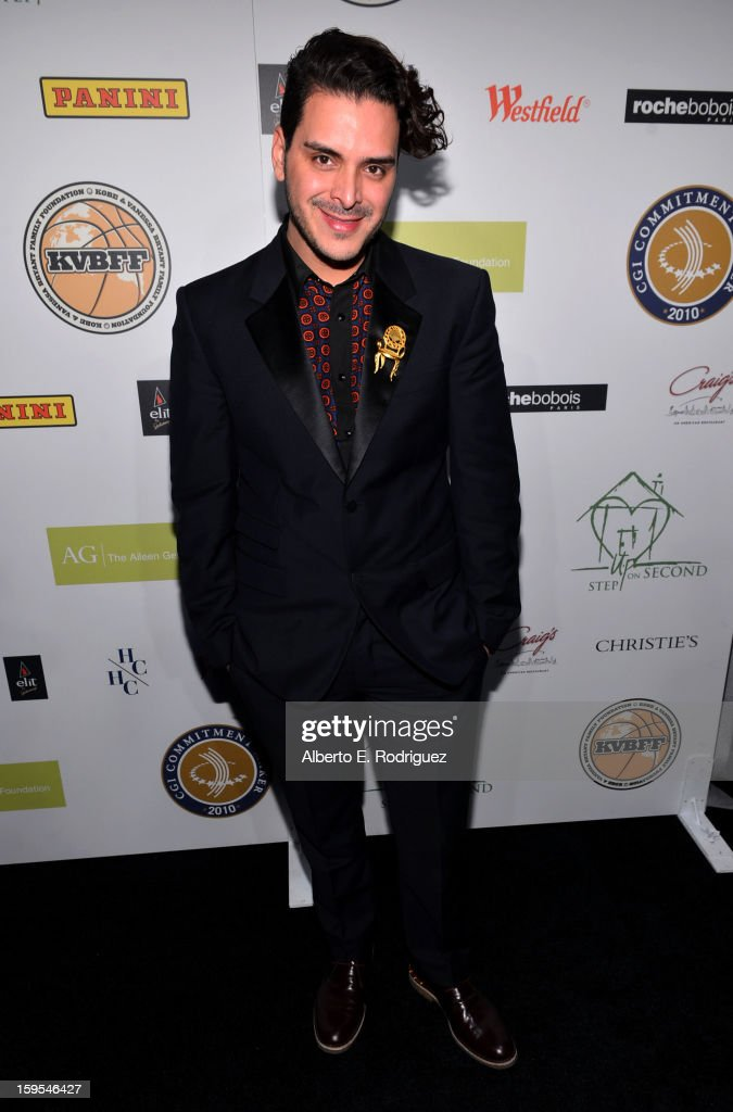 Markus Molinari joined President Bill Clinton and Kobe Bryant at the grand opening of STEP UP ON VINE on January 14, 2013 in Los Angeles, California.