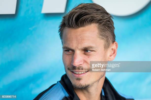 Markus Rosenberg of Malmo FF ahead of the Allsvenskan match between Malmo FF and Jonkopings Sodra IF at Swedbank Stadion on July 22 2017 in Malmo...