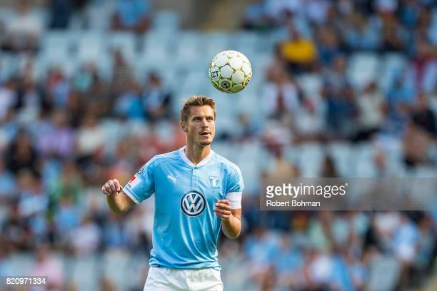 Markus Rosenberg of Malmo FF during the Allsvenskan match between Malmo FF and Jonkopings Sodra IF at Swedbank Stadion on July 22 2017 in Malmo Sweden