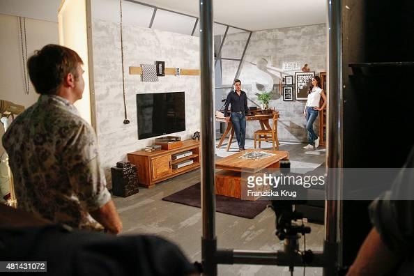 fotos und bilder von making off wolf moebel shooting. Black Bedroom Furniture Sets. Home Design Ideas