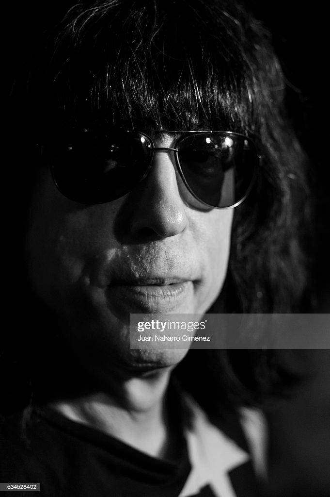 <a gi-track='captionPersonalityLinkClicked' href=/galleries/search?phrase=Marky+Ramone&family=editorial&specificpeople=1995170 ng-click='$event.stopPropagation()'>Marky Ramone</a> attends 'Ramones' 40th anniversary party at El Principito on May 26, 2016 in Madrid, Spain.