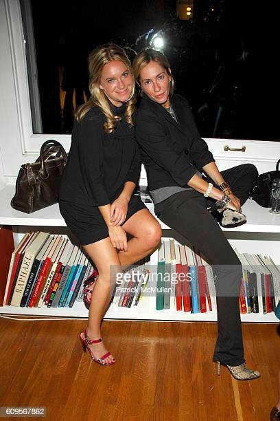 Marla Farrell and Lauryn Flynn attend GLAMOUR MAGAZINE's 'Fashion Gives Back' Event to Benefit MALARIA NO MORE at Private Residence on September 4...