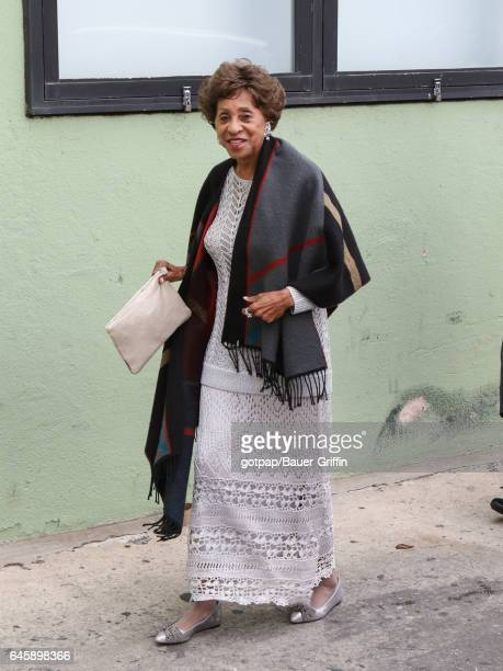 Marla Gibbs is seen on February 26 2017 in Los Angeles California