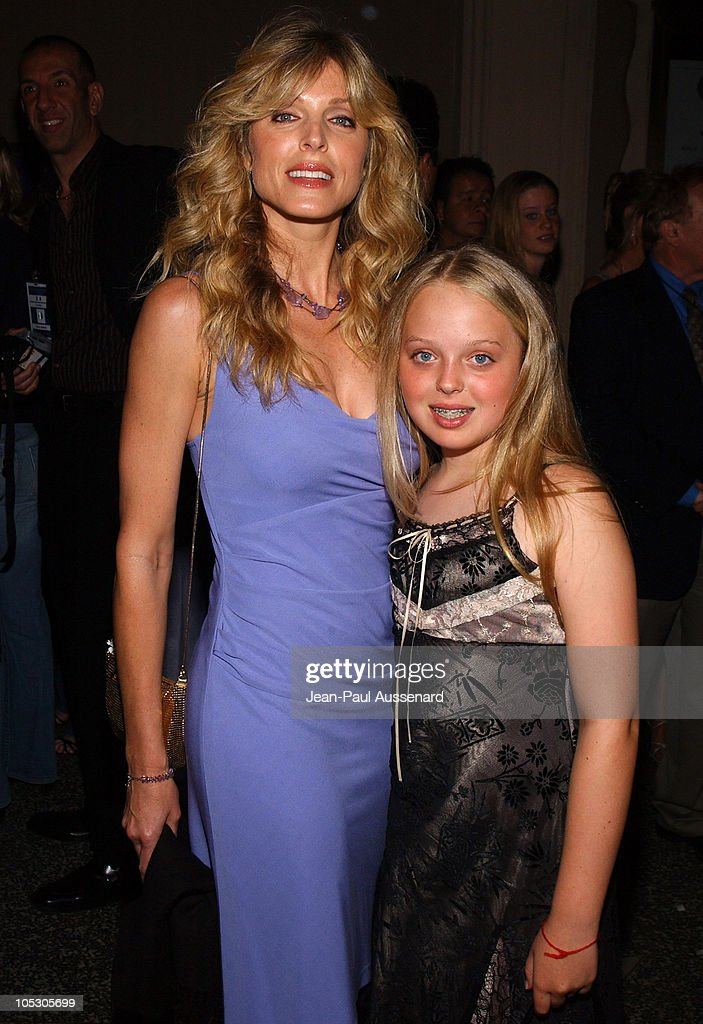 Marla Maples and daughter Tiffany Trump during The 53rd Annual Miss USA Competition After Party Arrivals at Avalon in Hollywood California United...