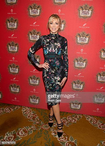 Marla Maples attends the after party for the 'Natasha Pierre The Great Comet Of 1812' opening night on Broadway at The Plaza Hotel on November 14...