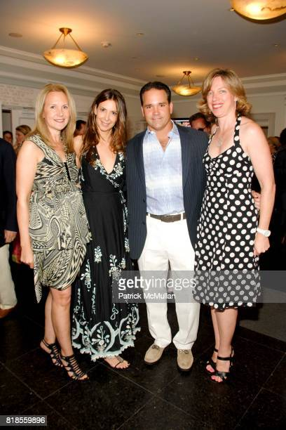 Marla Sabo Dianne Vavra Michael Combs and Florence Mauchant attend GUILD HALL SUMMER GALA CELEBRATING THE OPENING OF THE BARBARA KRUGER EXHIBITION at...