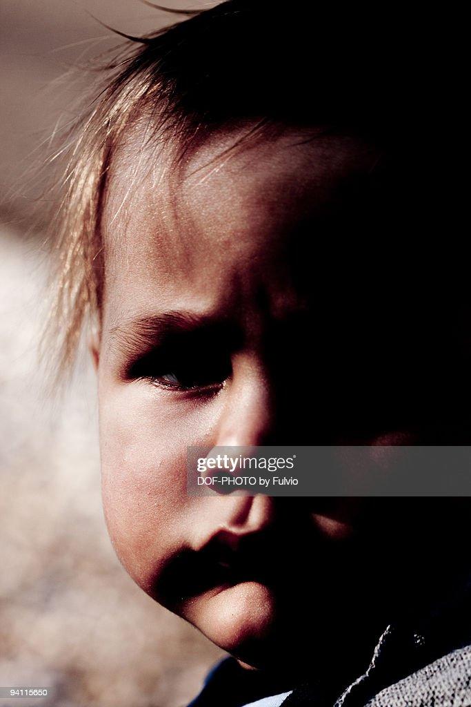 Marlboro child : Stock Photo