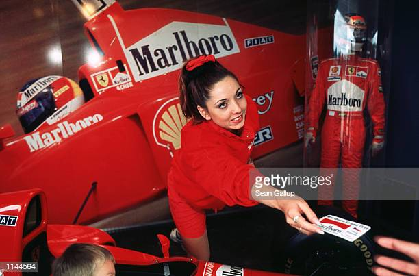 Marlboro cigarette promotion in Prague Czech Republic
