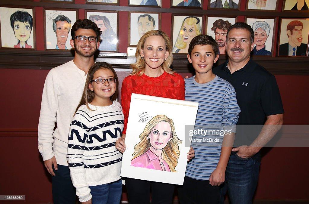 Marlee Matlin and family
