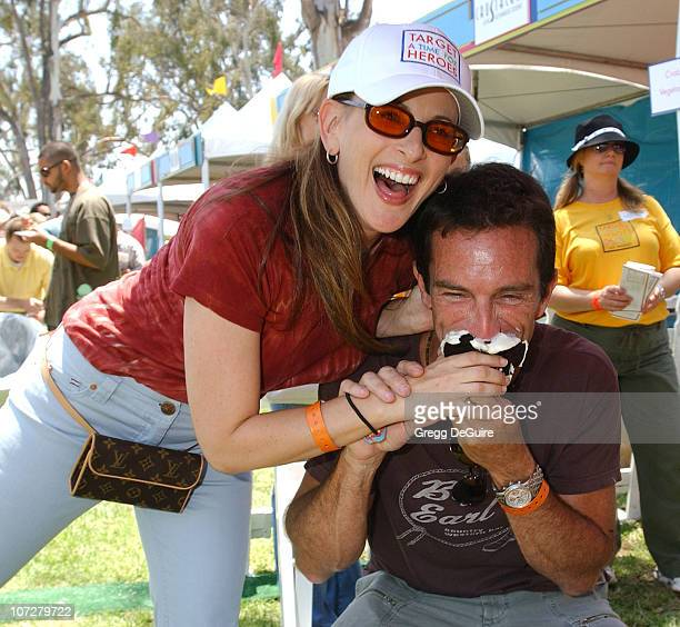 Marlee Matlin and Jeff Probst at the 2004 Target A Time for Heroes Celebrity Carnival to benefit the Elizabeth Glaser Pediatric AIDS Foundation