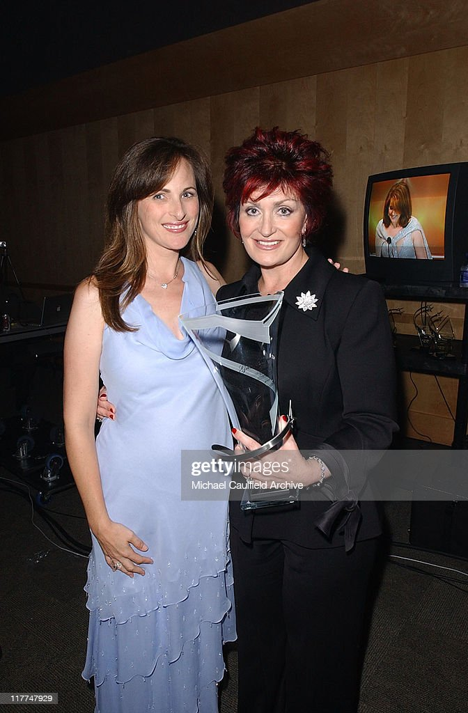 Marlee Matlin and Sharon Osbourne during 'So The World May Hear' Awards Gala All Access at Rivercentre in St Paul Minnesota United States