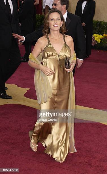 Marlee Matlin during The 75th Annual Academy Awards Arrivals at The Kodak Theater in Hollywood California United States