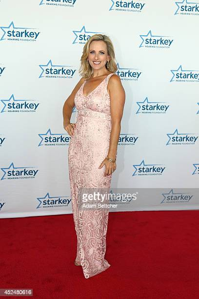 Marlee Matlin walks the red carpet at the 2014 Starkey Hearing Foundation So The World May Hear Gala at the St Paul RiverCentre on July 20 2014 in St...