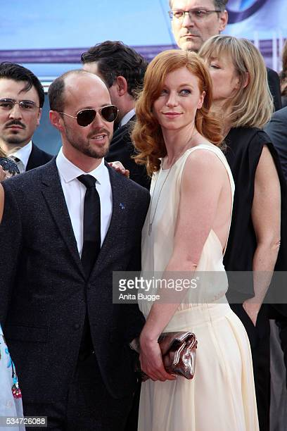 Marleen Lohse and guest attend the Lola German Film Award on May 27 2016 in Berlin Germany