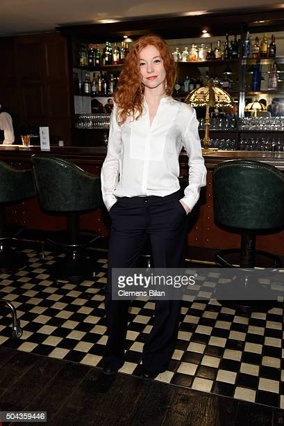 Marleen Lohse attends E Red Carpet Influencer Suite promoting 'Live from the Red Carpet' on german E Entertainment at Soho House on January 10 2016...