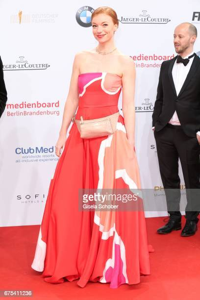 Marleen Lohse during the Lola German Film Award red carpet arrivals at Messe Berlin on April 28 2017 in Berlin Germany