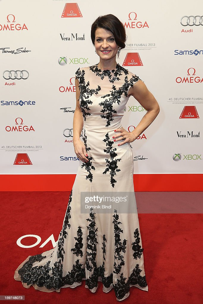 Marlen Lufen attends the Germany Filmball 2013 at Hotel Bayerischer Hof on January 19, 2013 in Munich, Germany.
