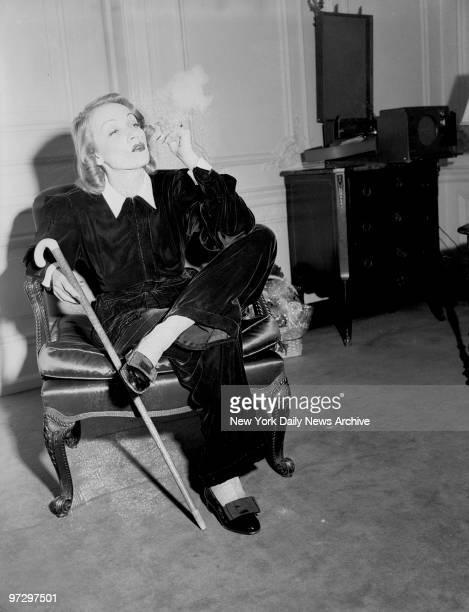 Marlene Dietrich at the St Regis Hotel