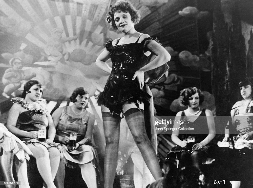 Marlene Dietrich in Der Blaue Engel