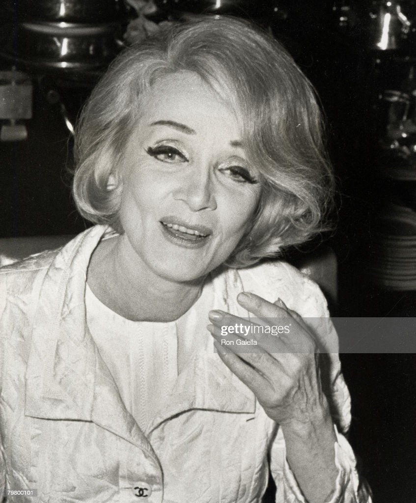 Marlene Dietrich Sighting at Rainbow Room Party - October 9, 1967