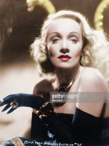 Marlene Dietrich Undated head and shoulders photograph