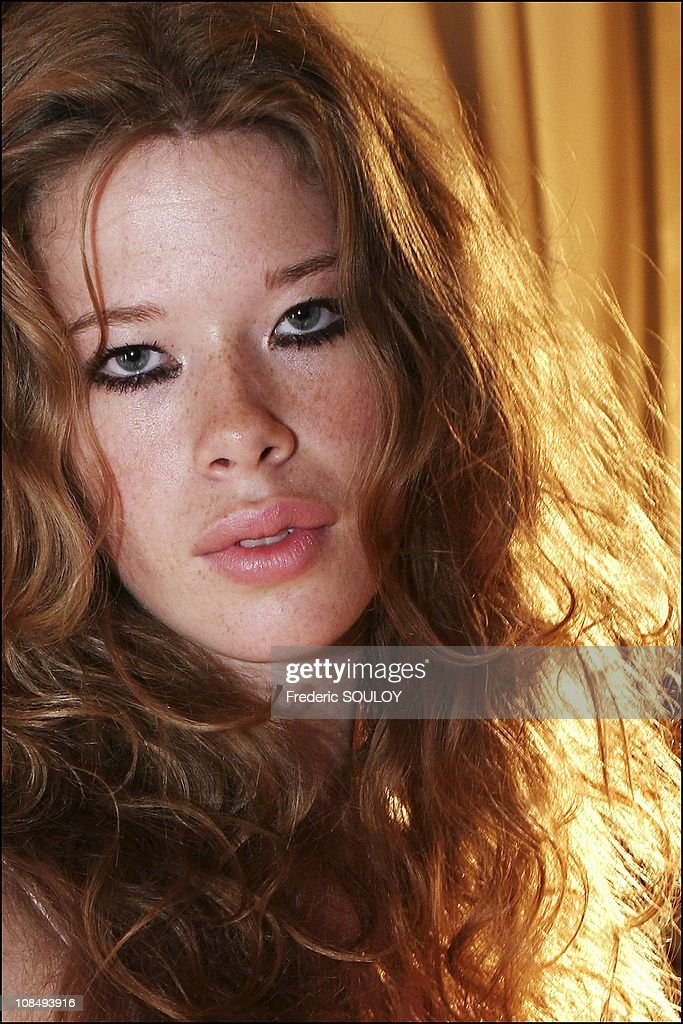 Marlene From The French TV reality show Top Model M6 is in Paris, France on September 02nd, 2005.