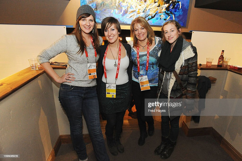 Marlene Hayes, Bonnie MacKay, Cecilly Huff-Smith and Kirsten Riley attend the ASCAP Composer Filmmaker Cocktail Party at ASCAP Music Cafe during the 2013 Sundance Film Festival on January 22, 2013 in Park City, Utah.