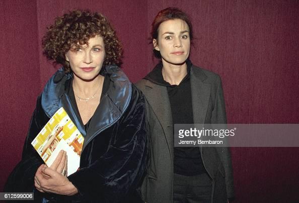Marlene Jobert and Valerie Kaprisky at the Eldorado Theater