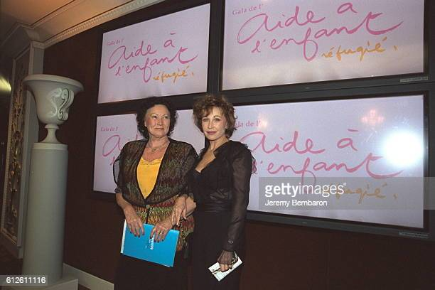 Marlene Jobert and Yvonne Clarens