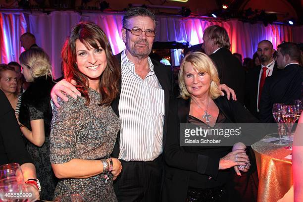 Marlene Lufen Guenther Klum and wife Erna attend the Lambertz Monday Night at Alter Wartesaal on January 27 2014 in Cologne Germany