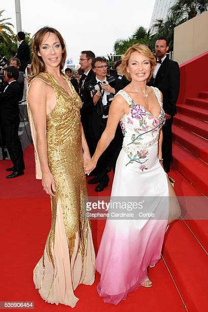 Marlene Mourreau and Brigitte Delahaye at the Premiere for 'Poetry' during the 63rd Cannes International Film Festiva