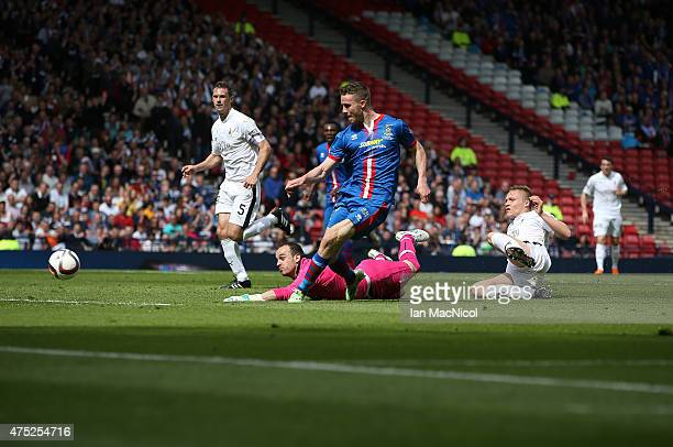 Marley Watkins of Inverness Caledonian Thistle scores during the William Hill Scottish Cup Final match between Falkirk and Inverness Caledonian...