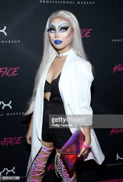 Marlin Marie Ocampo at the FACE Awards International Welcome Party at Andaz Hotel on August 16 2017 in Los Angeles California