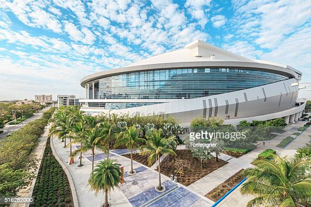 Marlins Park. Miami Baseball Stadium.