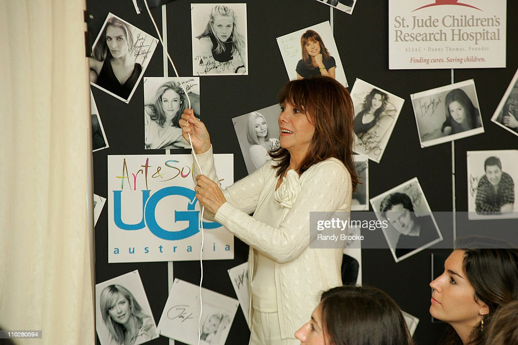 Marlo Thomas about to unveil Celebrity designed UGG's for St Jude Ebay auction