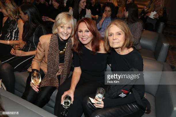 Marlo Thomas and Gloria Steinem attend the Female Bosses celebration and BOSS BITCH book launch and interactive panel event at The Core Club on March...