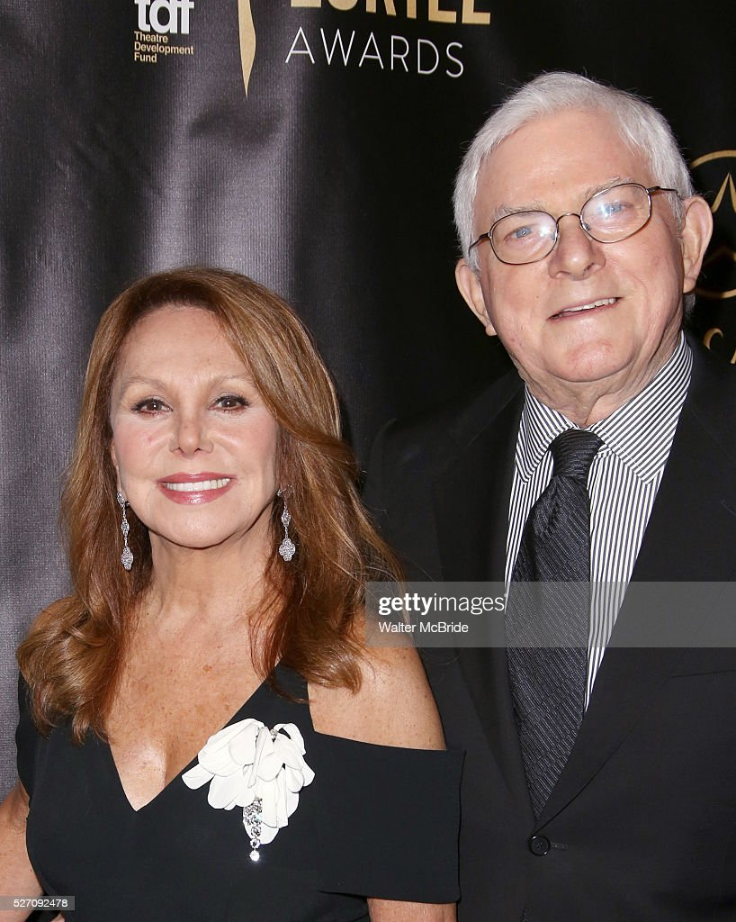 <a gi-track='captionPersonalityLinkClicked' href=/galleries/search?phrase=Marlo+Thomas&family=editorial&specificpeople=209421 ng-click='$event.stopPropagation()'>Marlo Thomas</a> and <a gi-track='captionPersonalityLinkClicked' href=/galleries/search?phrase=Phil+Donahue&family=editorial&specificpeople=718153 ng-click='$event.stopPropagation()'>Phil Donahue</a> attend the 31st Annual Lucille Lortel Awards at NYU Skirball Center on May 1, 2016 in New York City..