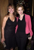 Marlo Thomas and Sharon Lawrence during The Women of Achievement Awards Gala at Tavern on the Green in New York City New York United States