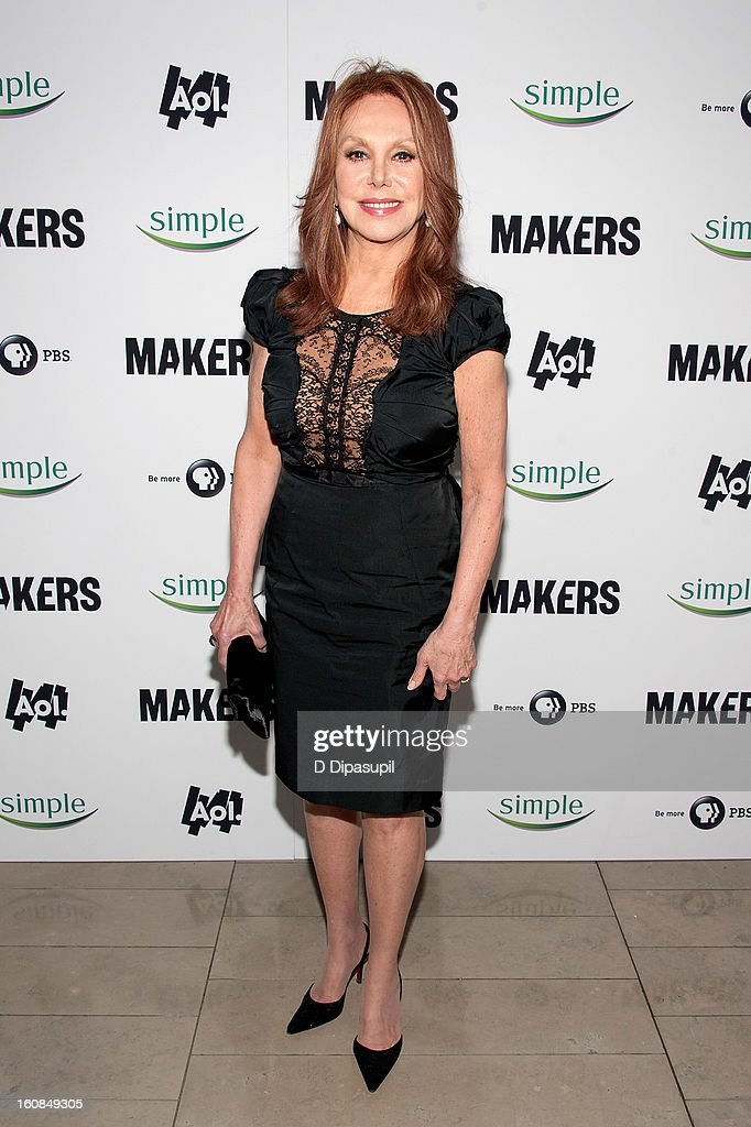 Marlo Thomas attends the 'MAKERS: Women Who Make America' New York Premiere at Alice Tully Hall on February 6, 2013 in New York City.